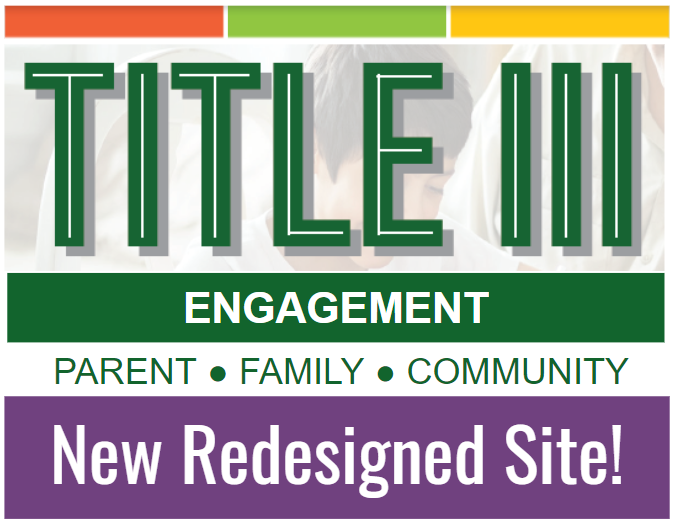 Title III Engagement New Redesigned Site