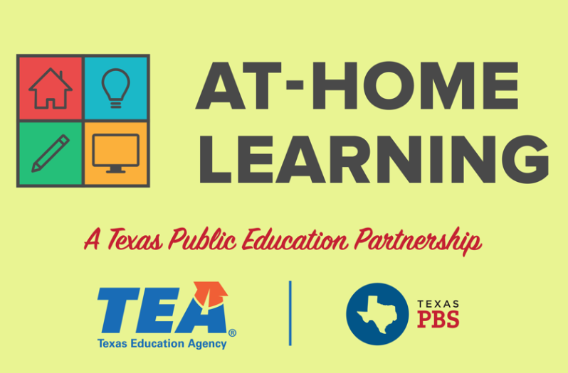 At-Home Learning A Texas Public Education Partnership TEA & PBS