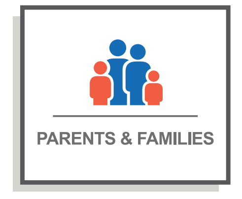 Parents and families representation drawing