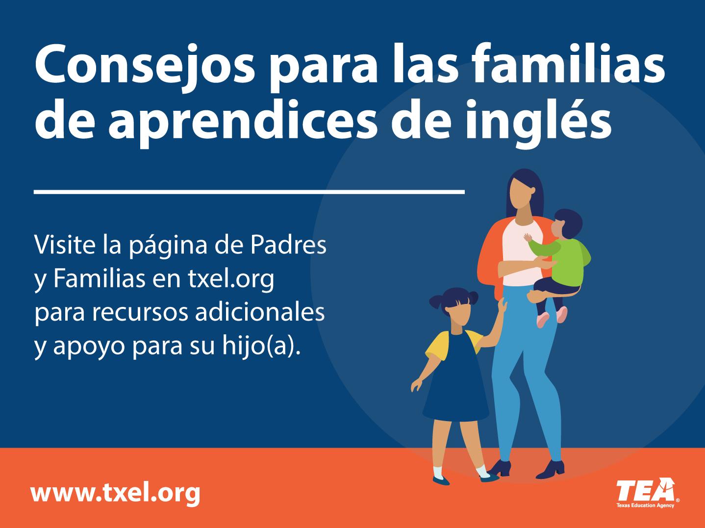 Consejos para las familias de aprendices de inglés